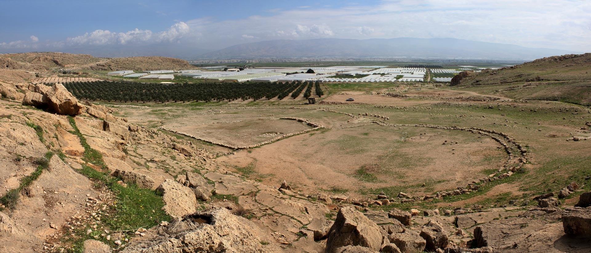 Acampamento dos Hebreus, Gilgal - Arqueologia Bíblica