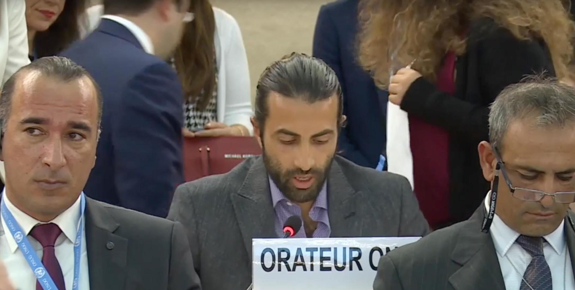 O dia em que um ex-terrorista palestino desmascarou a Autoridade Palestina na ONU