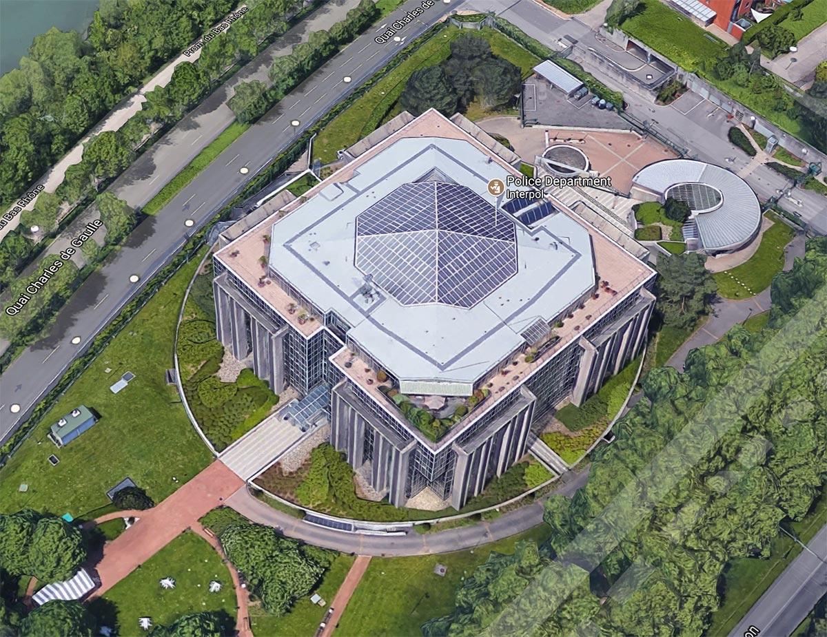 Sede da Interpol, Lyon, França