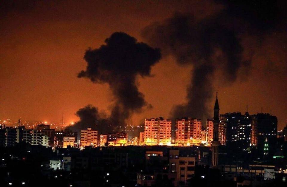 Hamas atacado em Gaza