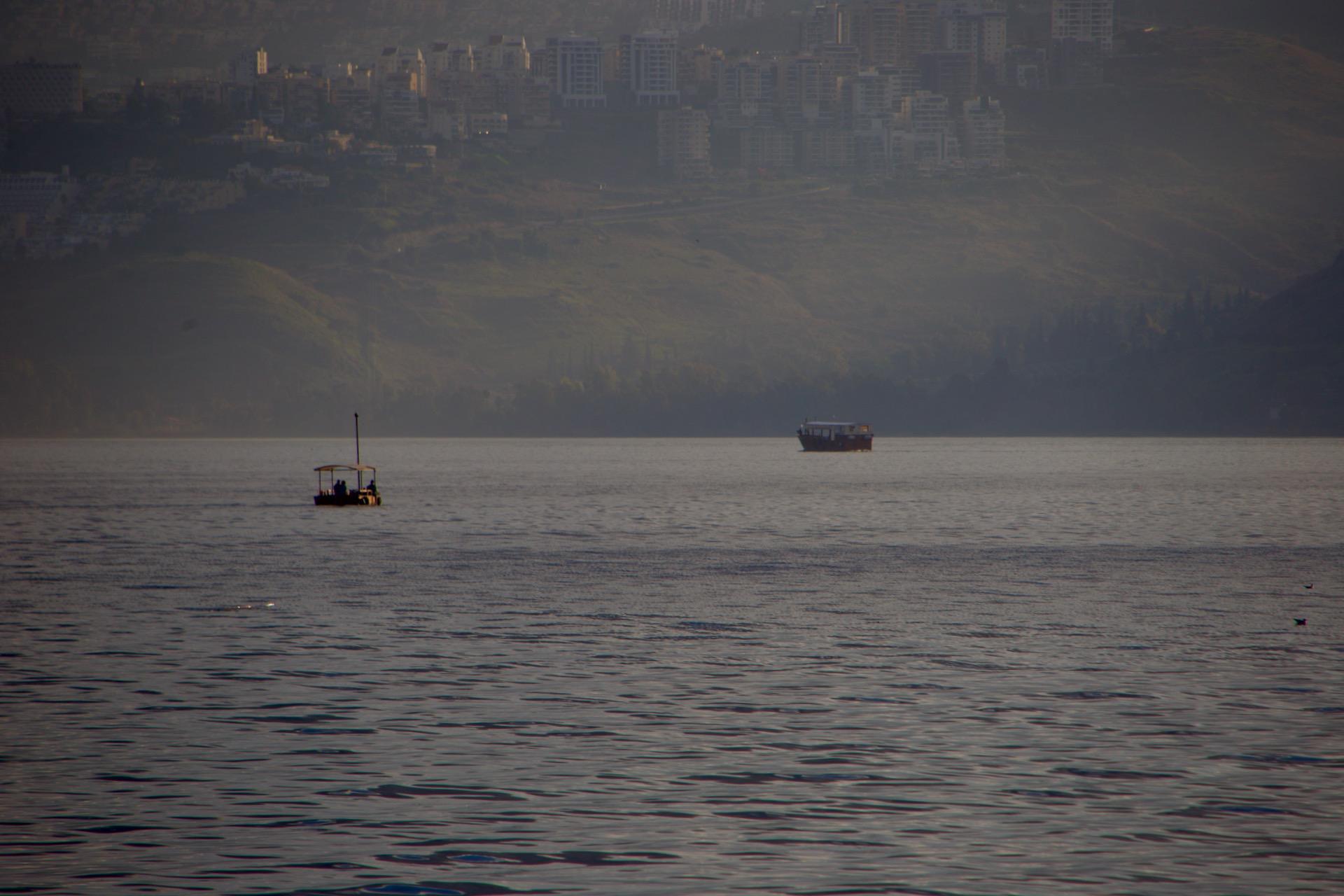 Previsão do Tempo, Mar da Galiléia