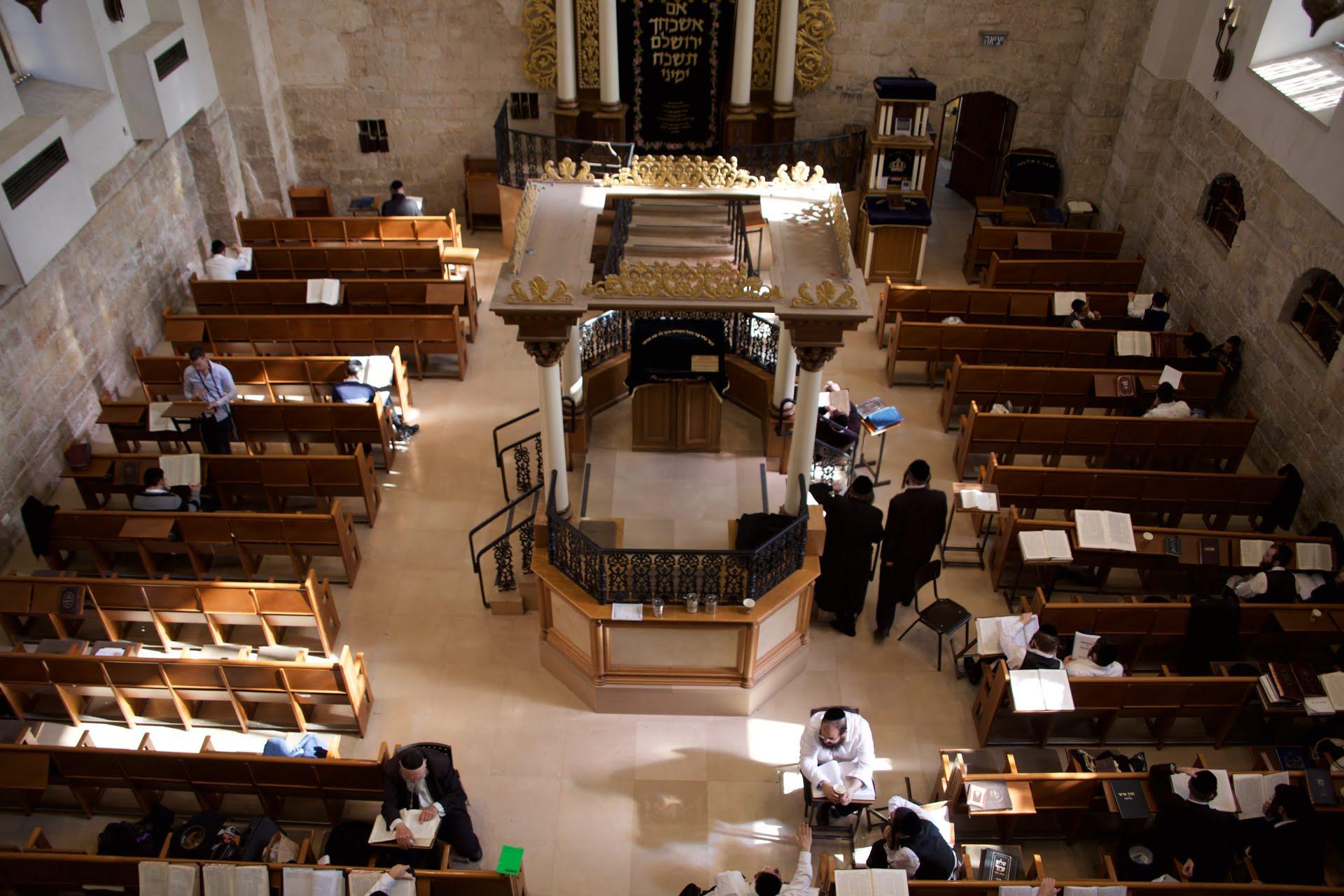 Israel após COVID-19 - Sinagoga de Hurva em Jerusalém